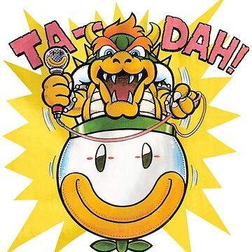 Bowser Ta-Dah! - Super Mario Bros. Classic Comic by Free2rocknroll