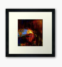 caves....... early homo sapiens Framed Print