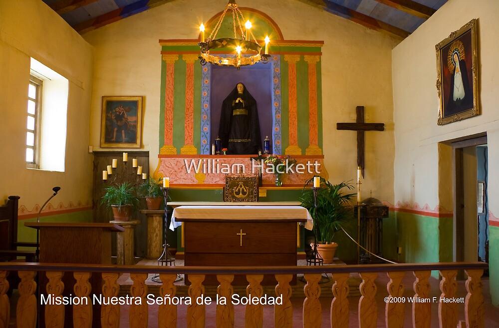 Mission Nuestra Señora de la Soledad by William Hackett