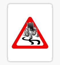 reckless driving Sticker