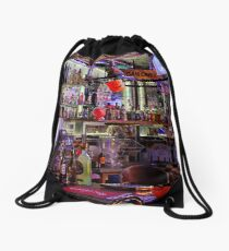 Looking to the night ahead Drawstring Bag