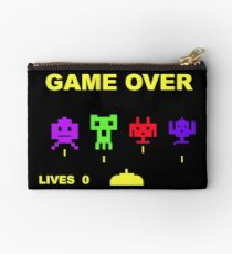 Game over retrogaming Studio Pouch