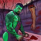 Boomer Zombie by astrazero