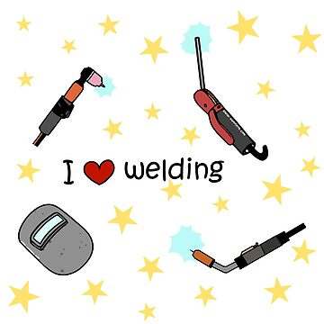 I love welding pattern by woaarts