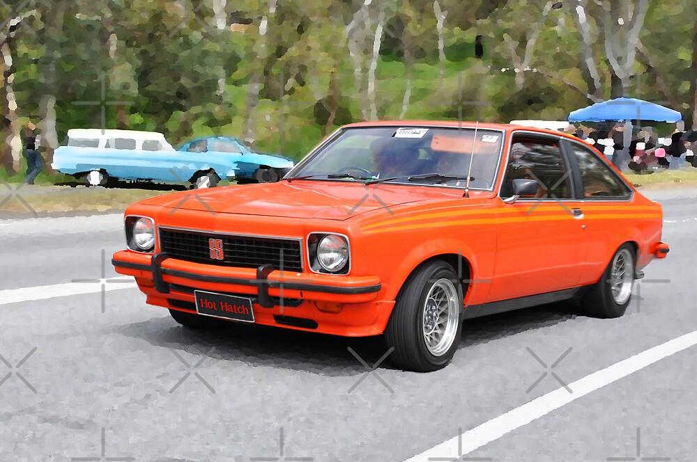 Orange LX SS Torana Hatch by Clintpix