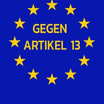 Gegen Artikel 13 #SaveYourInternet Shirts und Bekleidung #SaveYourInternet rettet das Internet Meinungsfreiheit Shirt by Limeva