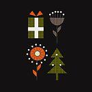Retro minimal Christmas by cocodes