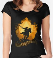 Epona's Song Women's Fitted Scoop T-Shirt