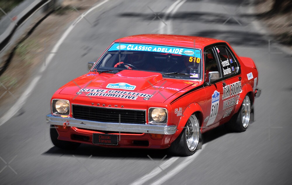 Classic Adelaide Red LX Torana by Clintpix