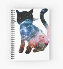 Thor's Helmet Nebula | Space Kitty Spiral Notebook