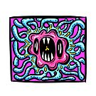 Framed Beasts! Tentacle Germ Wiggle Monster by Shelly Still