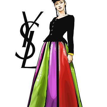 Fashion Illustration Haute Couture by loveprmd