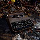 Old School Typewriter by DariaGrippo
