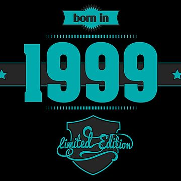 Born in 1999 (Blue&Darkgrey) by ipiapacs