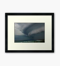 Summer Storm - Bribie Island Framed Print