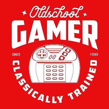 Old School Gamer-Atari Jaguar by willijay