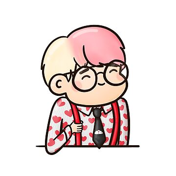 BTS Taehyung V - IDOL Chibi de sleepiest