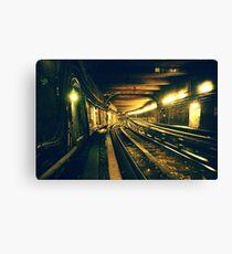 Abbesses Metro tunnel Canvas Print