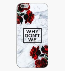 White Marble Why Don't We  iPhone Case