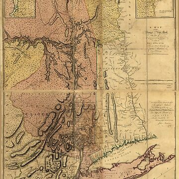 Map of the Province of New York (1775) by allhistory