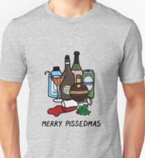 Merry Pissedmas, funny alcohol Christmas jumper Unisex T-Shirt