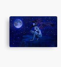 Ravens Twighlight Canvas Print