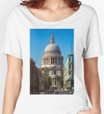 St Paul's Cathedral Women's Relaxed Fit T-Shirt