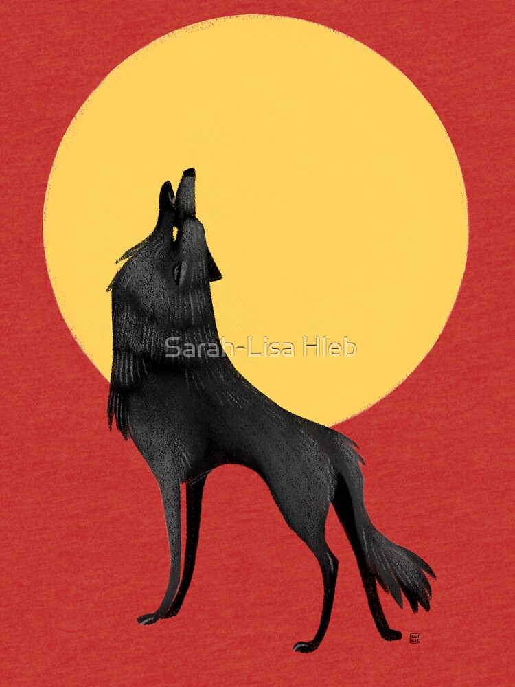 Howling Wolf by sarahlisahleb