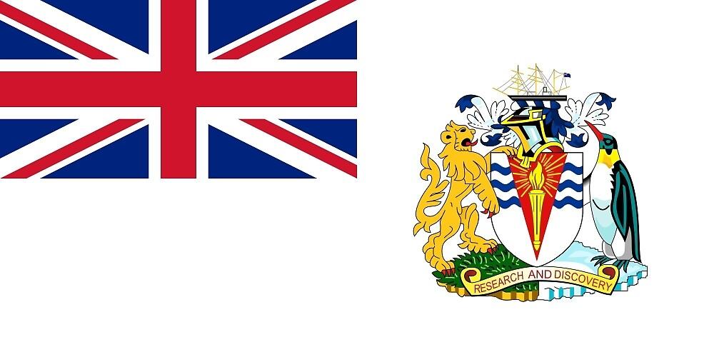 Flag of the British Antarctic Treaty  by abbeyz71