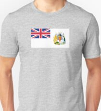 Flag of the British Antarctic Treaty  T-Shirt