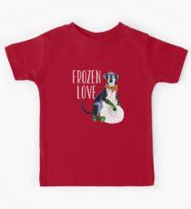 Frozen love Camiseta para niños