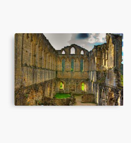 The Refectory - Rievaulx Abbey Canvas Print