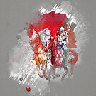 poloplayer grey abstract von Rhea Silvia Will
