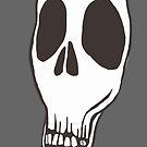 Dead Inside Skull by organicarts