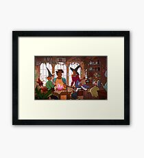 The Voltron Coven Framed Print