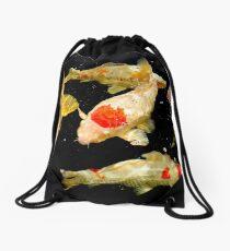 Koi Carpe Diem Drawstring Bag