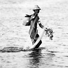 Balinese Fisherman by Wayne Gerard Trotman