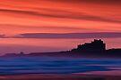 Red Dawn - Bamburgh Castle by David Lewins