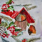 CHRISTMAS ROBINS by Marilyn Grimble