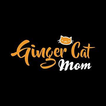 Ginger Cat Mom by Alandoubleu