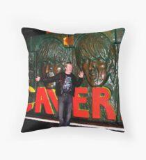 Rock on jimmy boy Throw Pillow