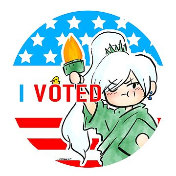 I Voted Weiss  by NonsuchTheFirst