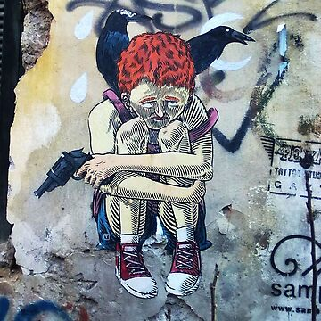 Street art Athens #2 by Elenix
