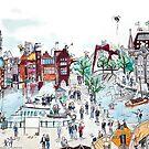 Amsterdam VS Rotterdam, Netherlands. Urban Tableau 7/8 by Urban-Tableau