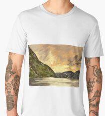 Norway land Men's Premium T-Shirt