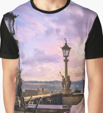 View from Capitol in Nashville, Tennessee, during the Civil War 1864 Graphic T-Shirt