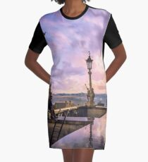 View from Capitol in Nashville, Tennessee, during the Civil War 1864 Graphic T-Shirt Dress
