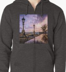 View from Capitol in Nashville, Tennessee, during the Civil War 1864 Zipped Hoodie