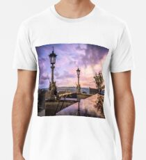 View from Capitol in Nashville, Tennessee, during the Civil War 1864 Premium T-Shirt