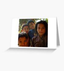 KATHMANDU ORPHANAGE Greeting Card